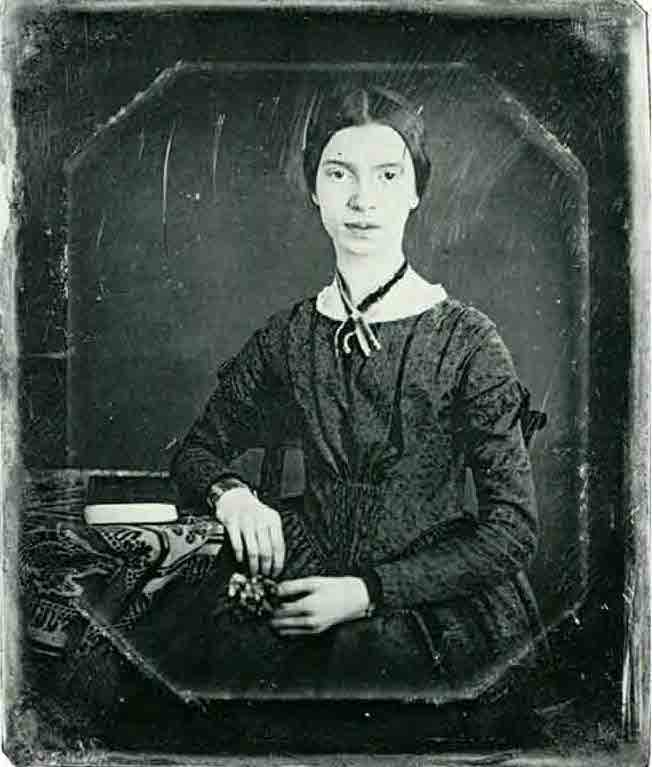 A portrait of Emily Dickinson