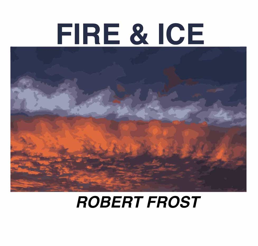 Fire and Ice poem cover