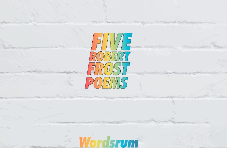 Robert Frost Best Poems cover image