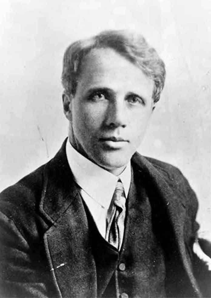 A portrait of Robert Frost