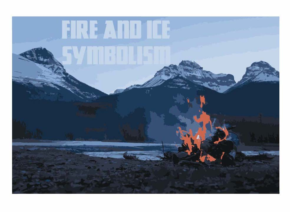 Fire and ice symbolism cover image by wordsrum