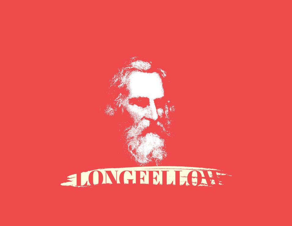 Illustration of HW Longfellow