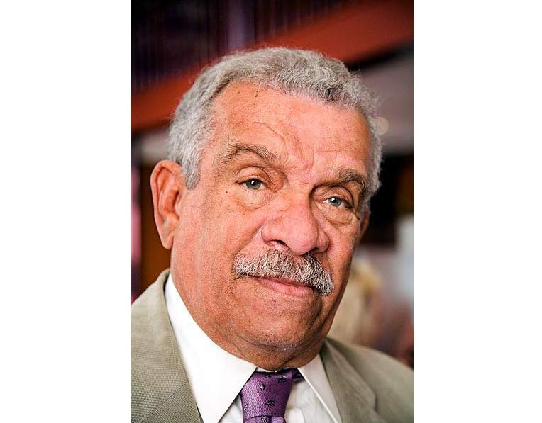 Derek Walcott, Nobel Prize in Literature 1992; picture taken at his honorary dinner, Amsterdam, May 20th 2008