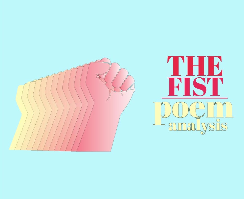 The fist poem analysis cover image