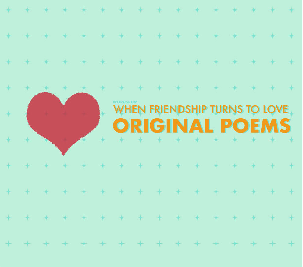 poems about friendship turning into love cover image