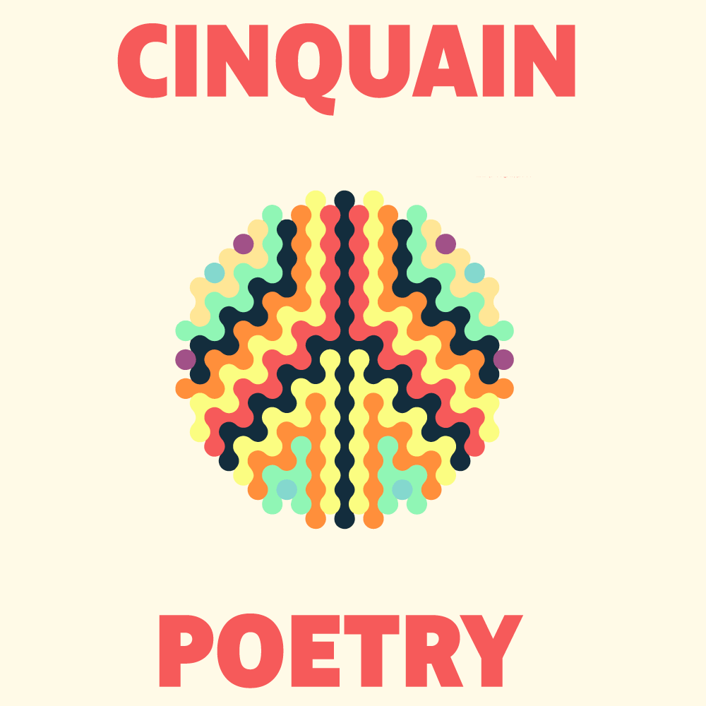 cinquain poems cover image