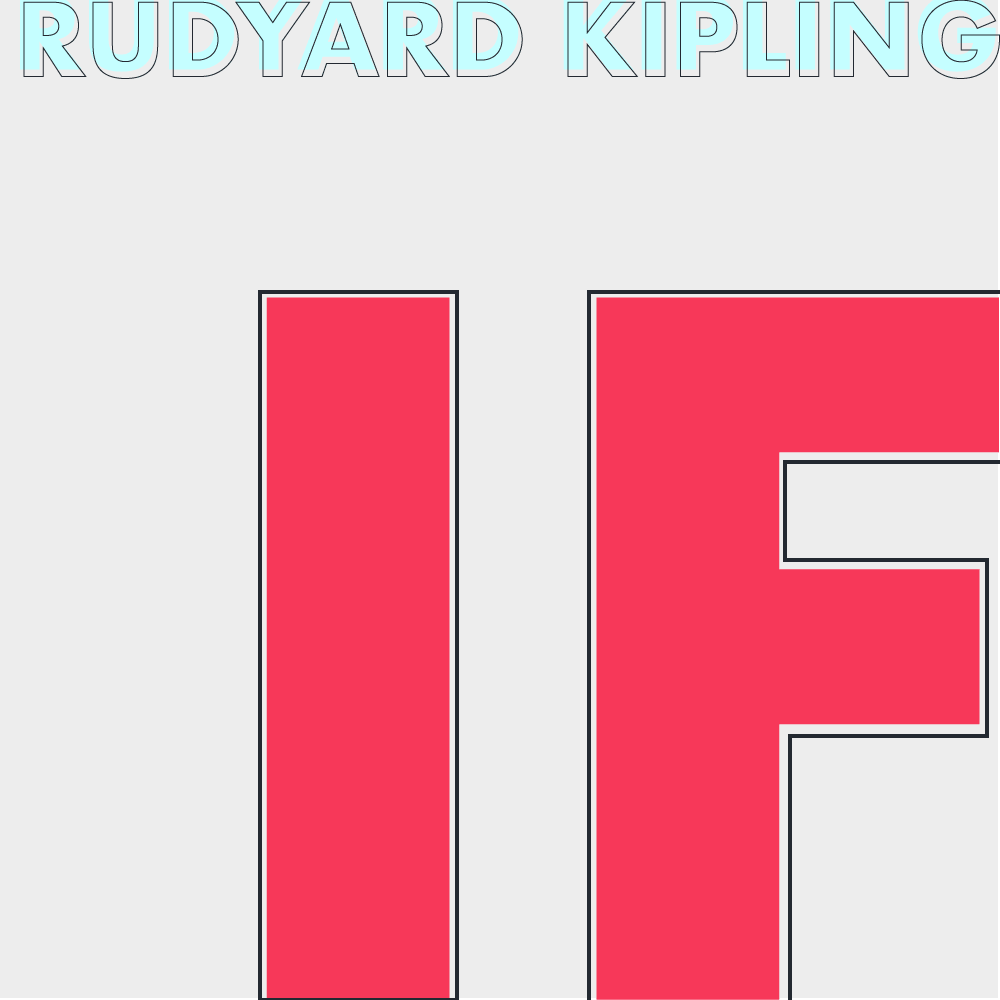 If by Rudyard Kipling cover image