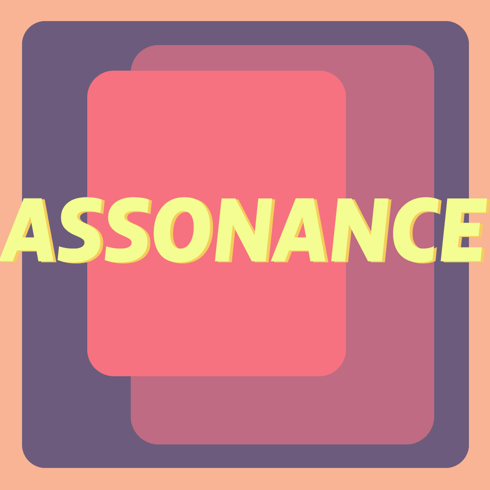 Assonance meaning cover image