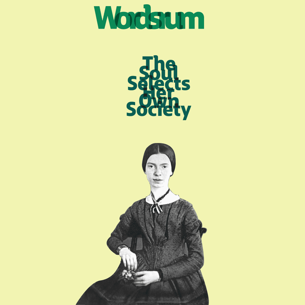 Cover image featuring Emily Dickinson