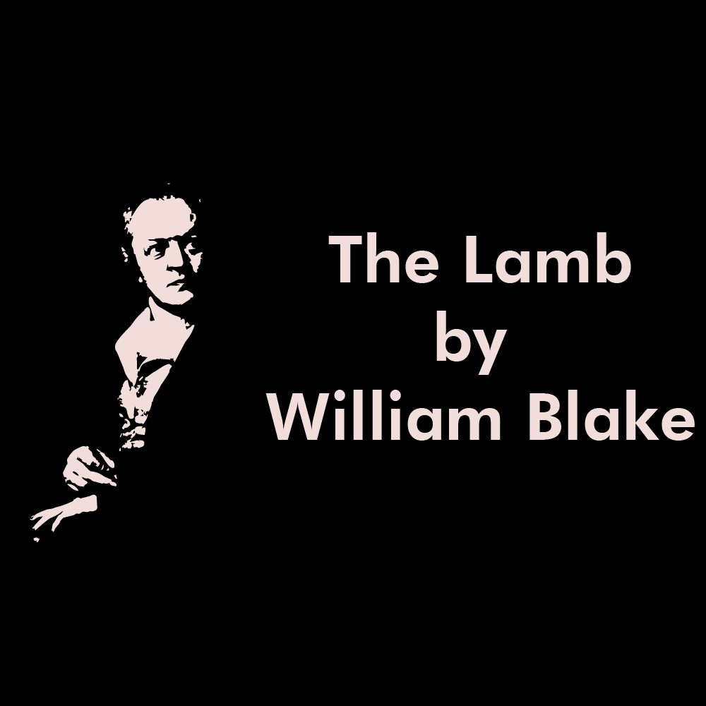 The Lamb poem by William Blake cover image