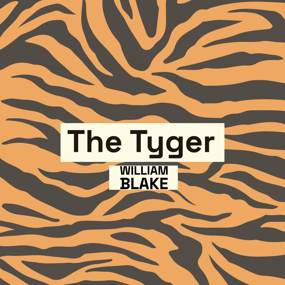 The Tyger poem cover image