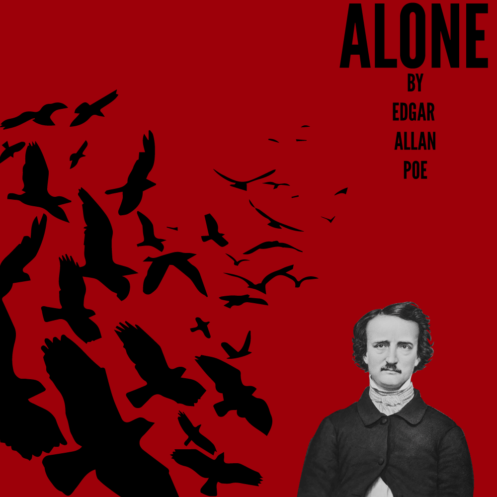 Alone by Edgar Allan Poe Cover Image