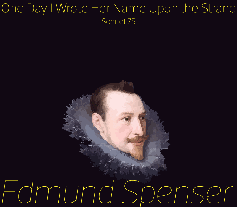 Cover image showing the face of Edmund Spenser
